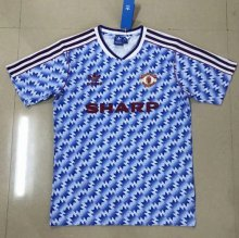 * Manchester United 1990-1992 Retro away jersey