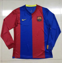 Barcelona 2006-2007 Home Long Sleeve Retro Jersey