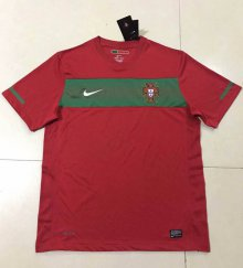 2010 South Africa World Cup Portugal Home retro Jersey