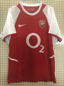Arsenal 2002-2003 Home Retro Jersey