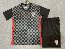 * 2020 Euro Croatia away kids jersey